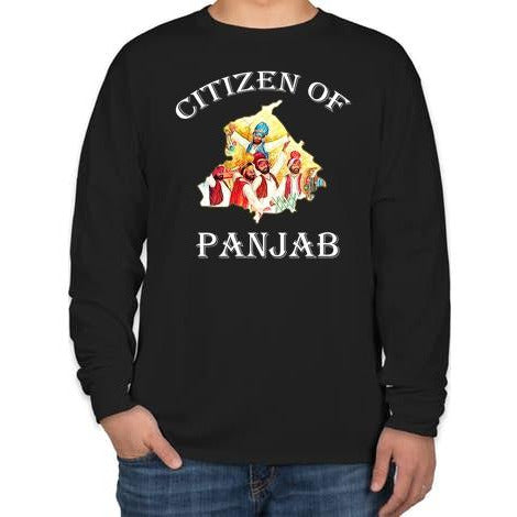 Citizen Of Punjab- Full Sleeve T-shirt