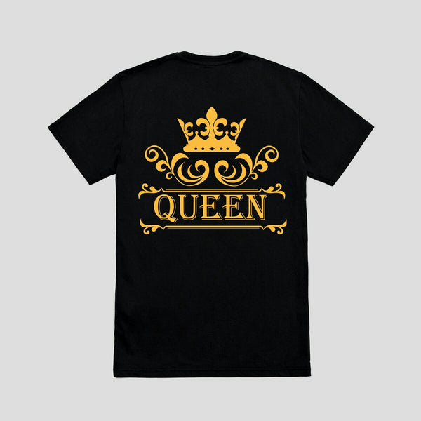 King Queen T-Shirts/Full Sleeve