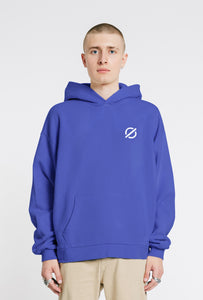 Hooded Sweatshirt - Washed Blue