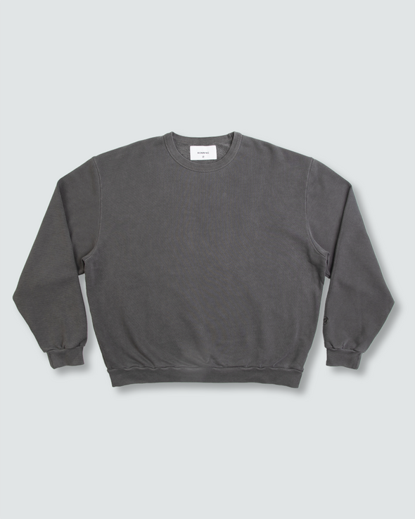 Washed Charcoal Everyday Crewneck