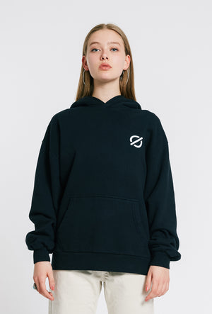 Hooded Sweatshirt - Black