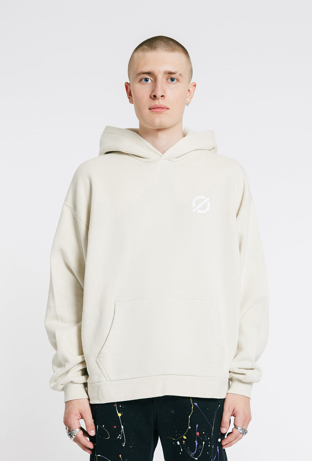 Hooded Sweatshirt - Stone
