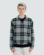 Forest Check Drill Pullover