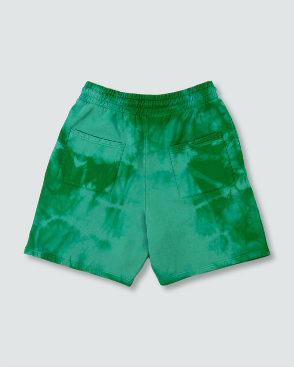 Green Dye Sweatshorts