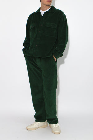 Cord Overshirt - Forest