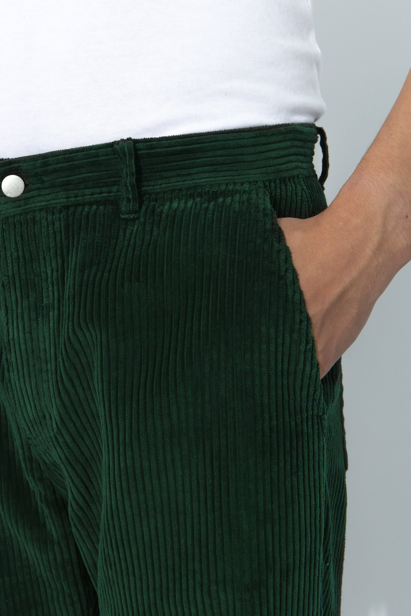 Cord Trousers - Forest (PRE-ORDER)