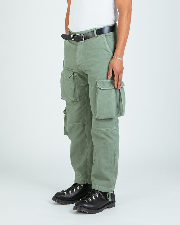 Washed Olive Ottetal Utility Pants