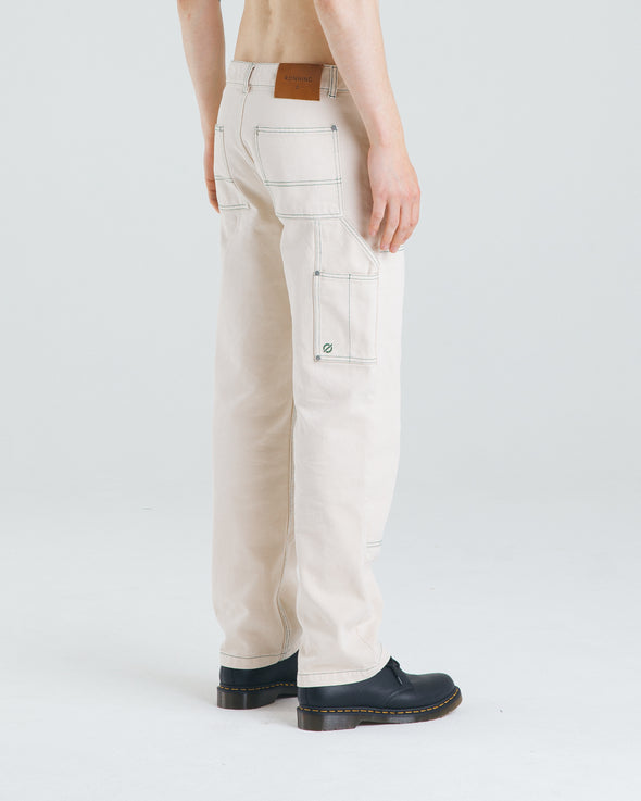 Contrast Stitch Denim Jeans