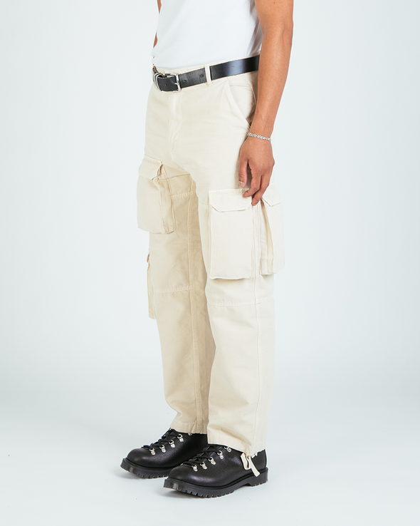 Washed Stone Ottetal Utility Pants