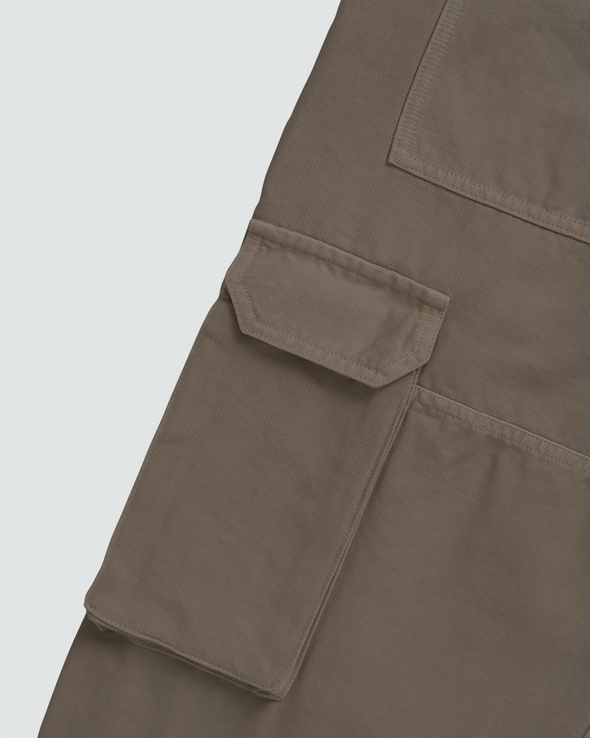 Washed Walnut Ottetal Utility Pants