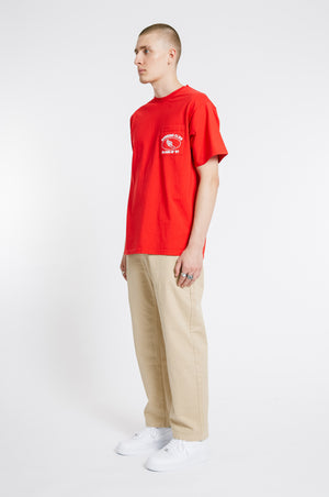Athletic Pocket T-shirt - Red