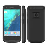 Pixel XL Battery Case, ICONIC 5000 mAh (Charge 80%+) Full Coverage Protective Charge Case