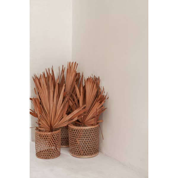 Fair trade and handmade baskets for storage and decoration