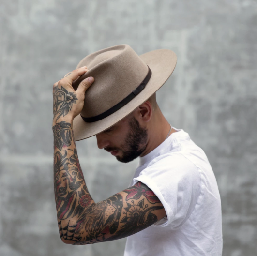 Shop sustainably and ethically produced headwear.