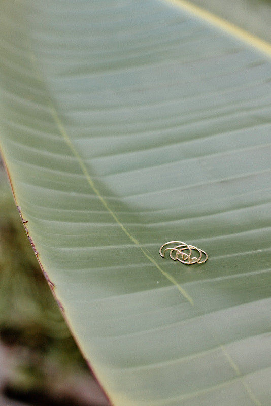 Shop ethically and sustainably produced rings.