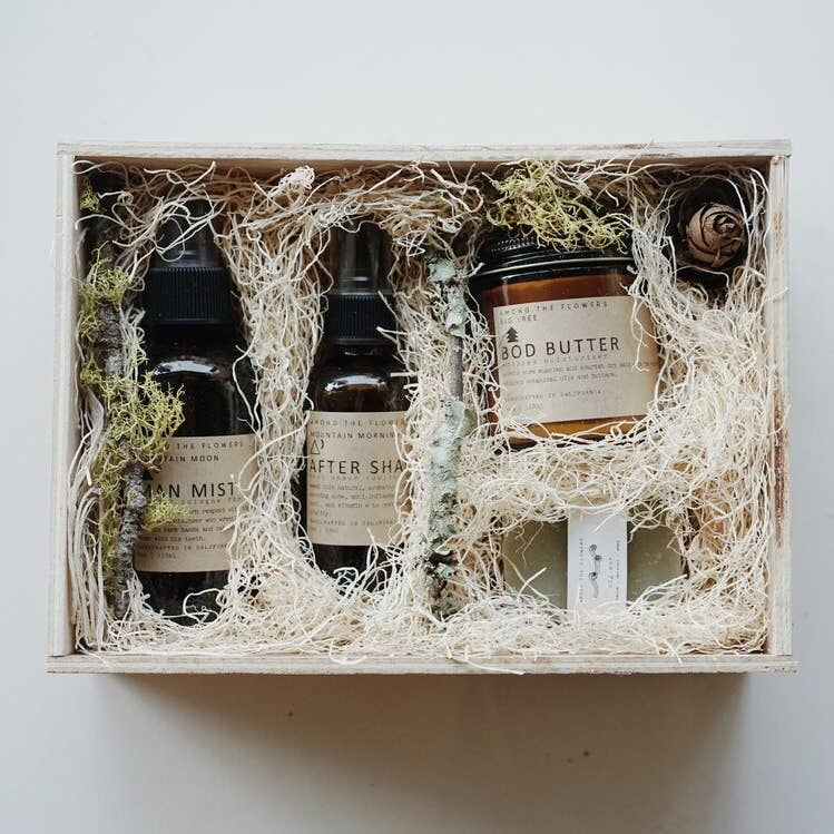 Wild Man Gift Set by Among the Flowers