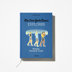 The New York Times Explorer Books are destination travel books available through retailer Thread Spun