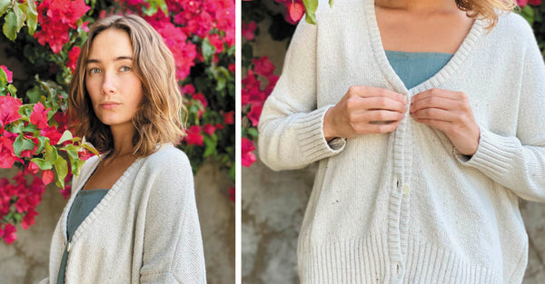 Sustainable Style with Jo Elise Thread Spun Beaumont Organic Charis Cardigan