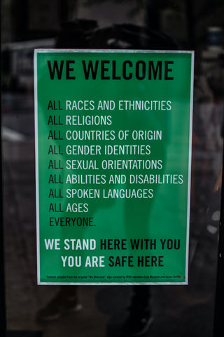 All Are Welcome Sign | Thread Spun