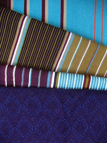 Fair trade textiles handwoven by women in Chiapas Mexico and sold by Thread Spun in Encinitas.