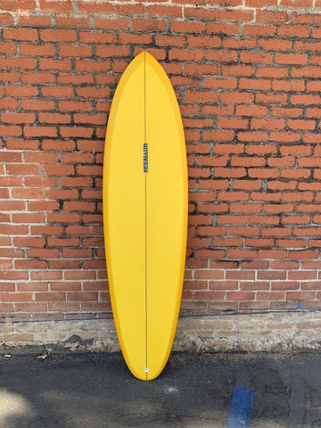 Handmade Jeff McCallum surfboard handshaped in San Diego and sold by Atacama Surf Shop
