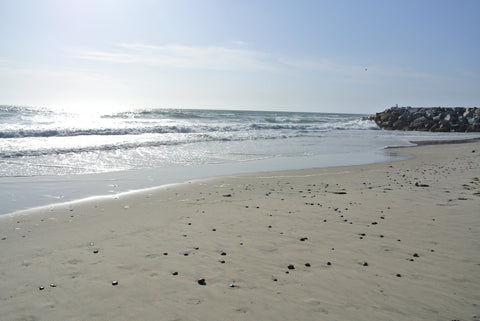 Beacons beach in Leucadia.