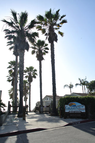 Grandview beach in Leucadia.
