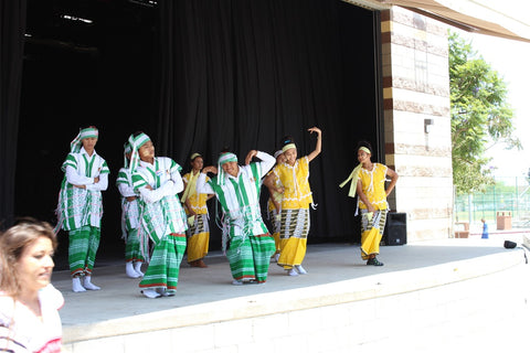 Karen Youth dancing at the World Refugee Day Celebration in San Diego