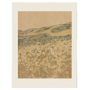 Open image in slideshow, Field of 70s Wallpaper print by Coco Shalom