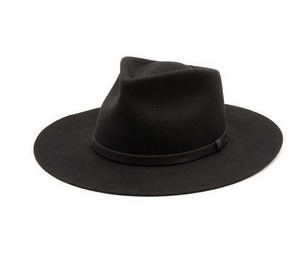 Open image in slideshow, Sustainble felt fedora by Yellow 108 utilizes salvaged material and is sold by handmade retailer Thread Spun in Encinitas, California