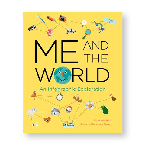 Me and the World is a colorful, eye-popping universe of infographics about global communities. This content-rich book teaches about kids and cultures worldwide while stepping back and seeing the big picture and is a perfect introduction for a generation entering an increasingly digitized, data-driven world.