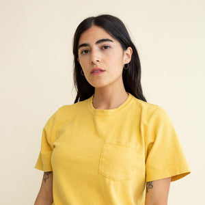 Season-less midweight hemp and organic cotton blend tee shirt. This hemp tee by Jungmaven is unisex. Made in the USA.