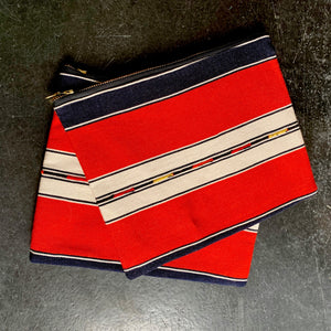 Open image in slideshow, Medium Zippered Pouches