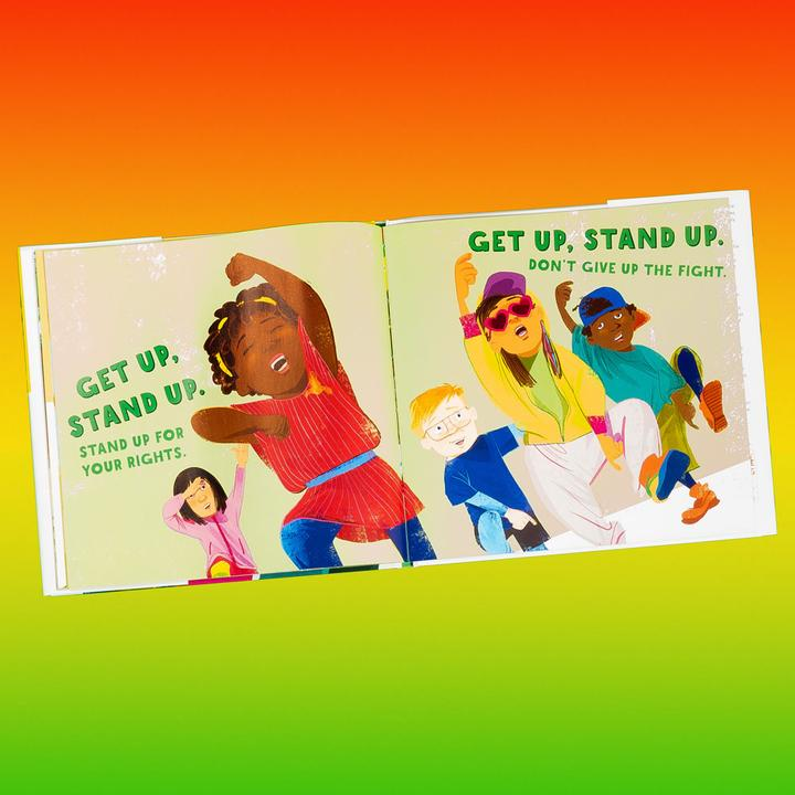 Bob Marley's songs are known the world over for their powerful message of love, peace, and harmony. Now a whole new generation can discover one of his most joyous songs in this reassuring picture book adaptation written by his daughter Cedella and exuberantly illustrated by Vanessa Brantley-Newton.