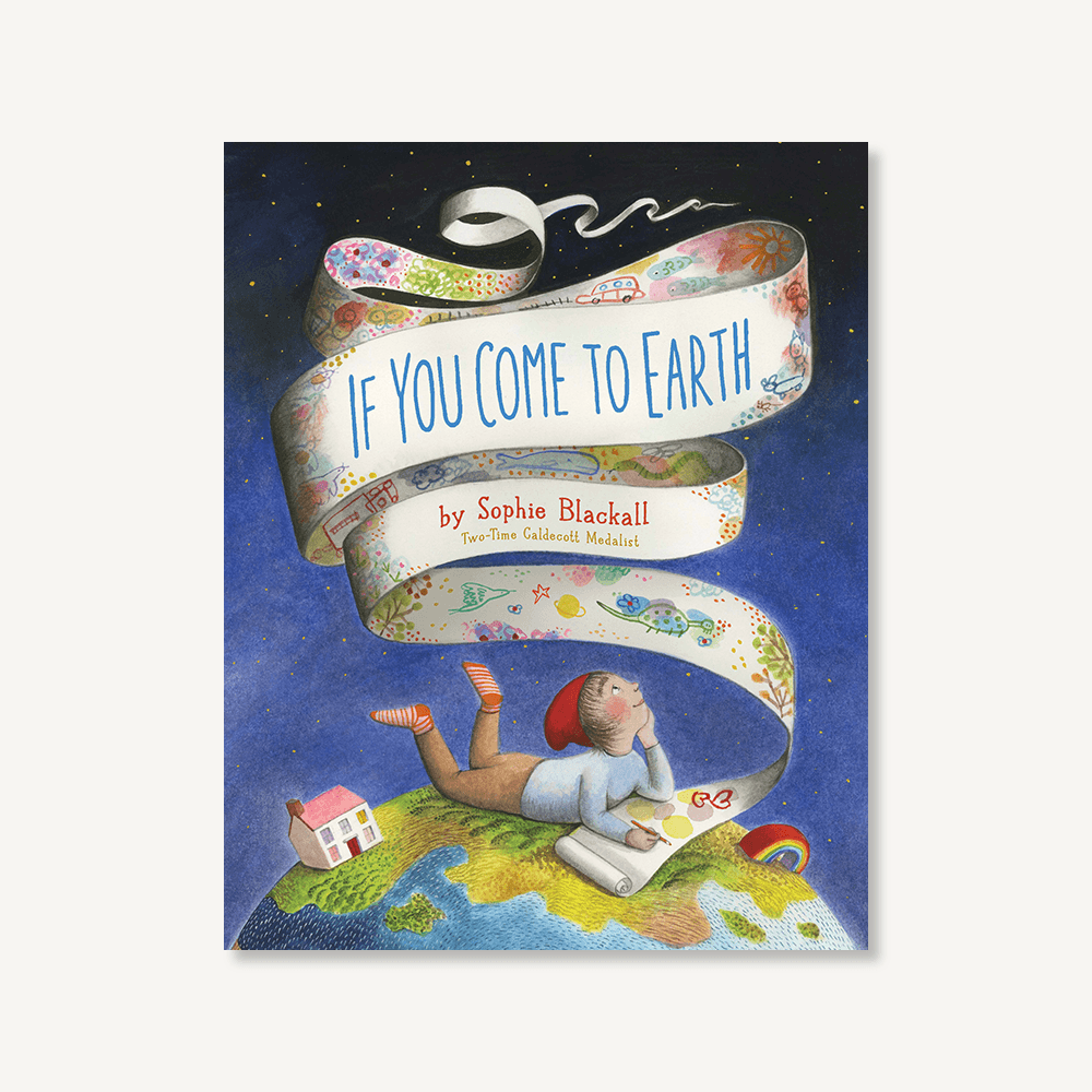 If You Come to Earth is a glorious guide to our home planet, and a call for us to take care of both Earth and each other. This stunning book is inspired by the thousands of children author Sophie Blackall has met during her travels around the world in support of UNICEF and Save the Children.