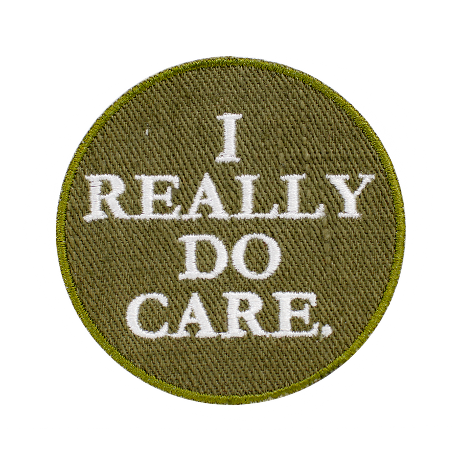 I Really Do Care Patch