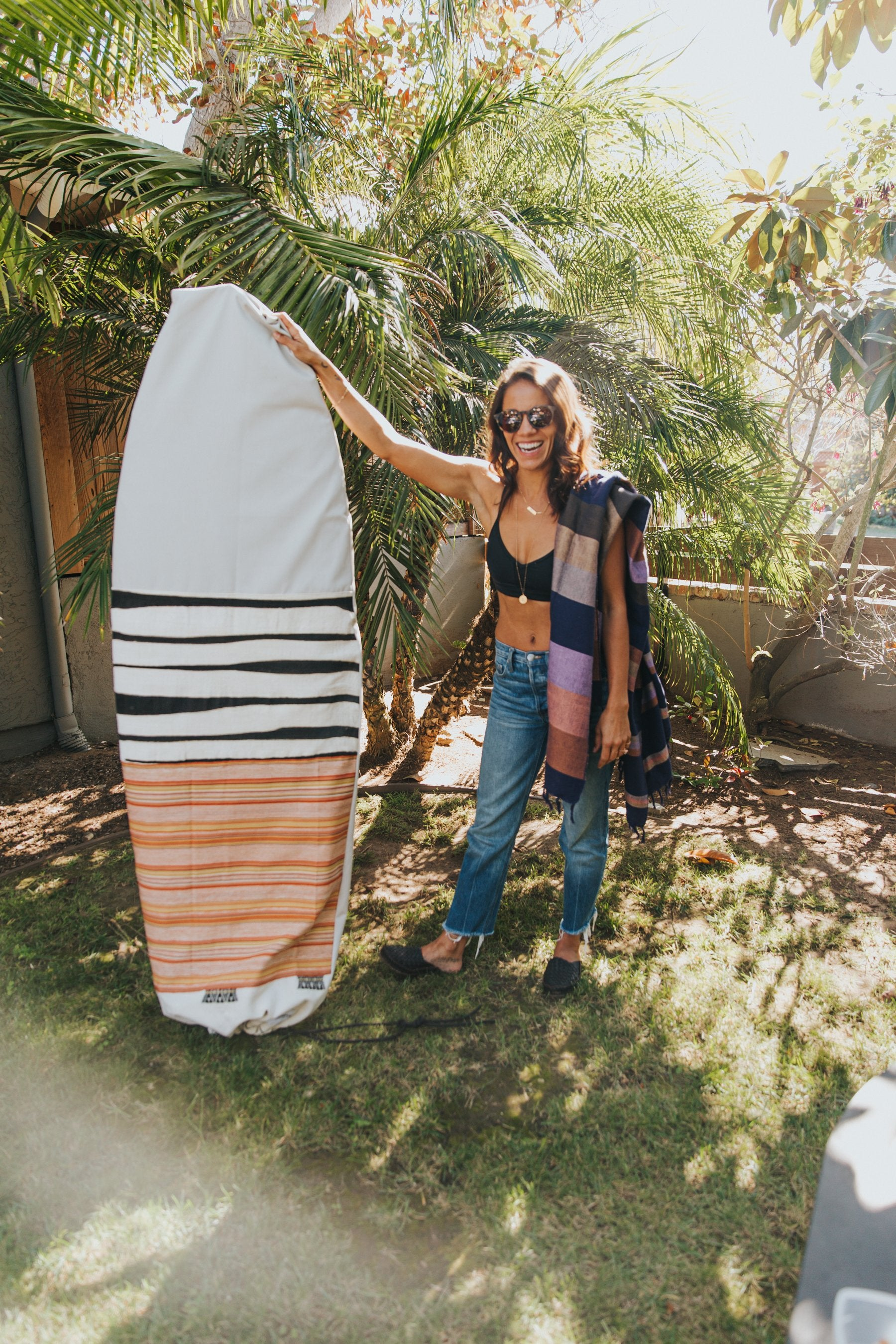 6' HANDMADE SURFBOARD BAG