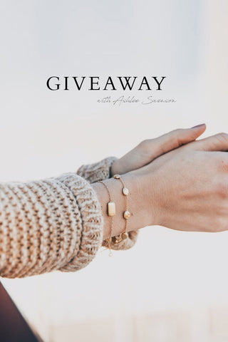 Giveaway with Marco Bicego and Ashlee Ann - delicate jewelry, gold bracelets, beautiful and elegant