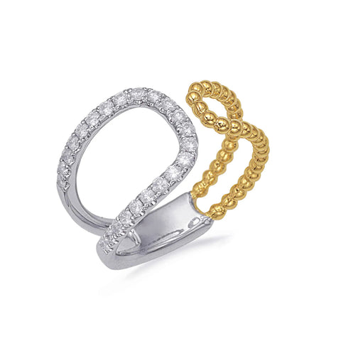 Open Diamond Beaded Band