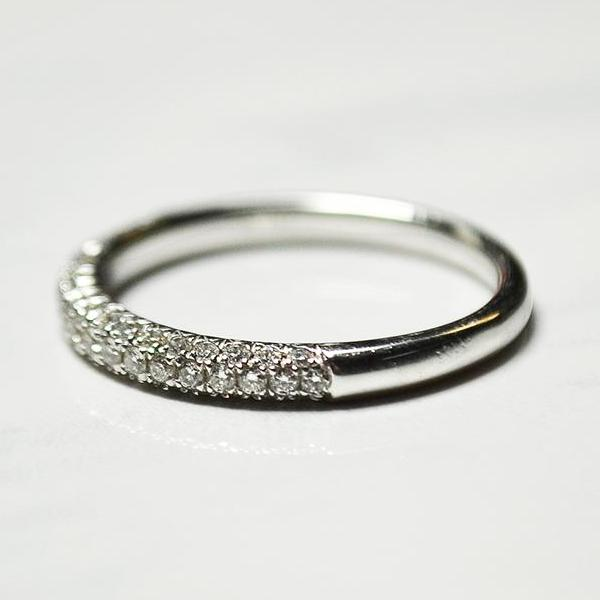diamond half eternity band bands pave home