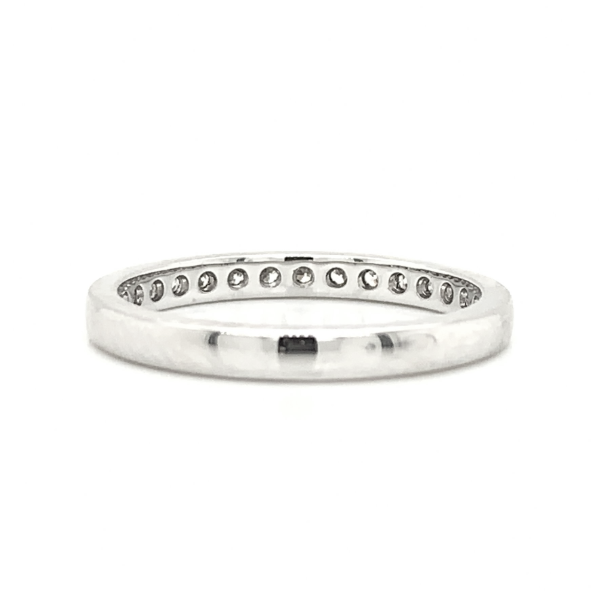 Extra Large Milgrain Pave Diamond Band