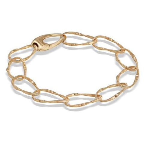 Marrakech Onde Collection 18K Yellow Gold Single Strand Bracelet