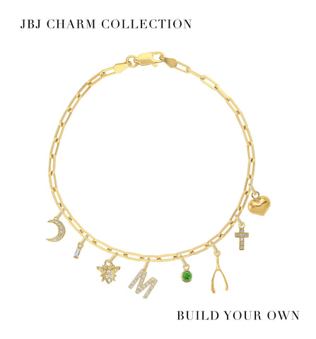 Pave Diamond Butterfly Charm - JBJ Charm Collection