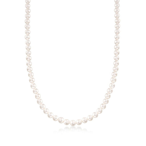 Classic Freshwater Pearl Necklace Strand