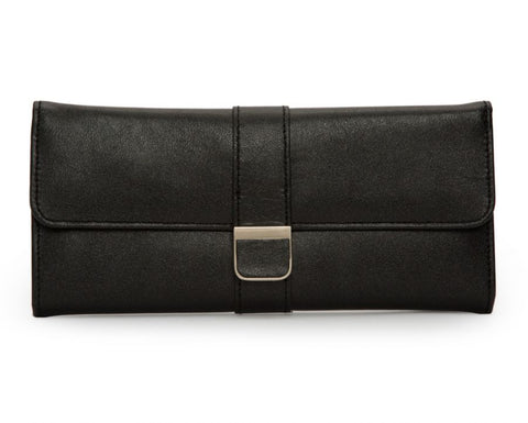 PALERMO JEWELRY ROLL - BLACK