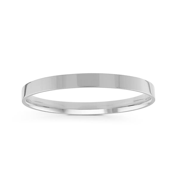 2mm Classic Flat Comfort Fit Wedding Band