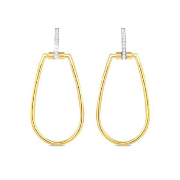 Classica Parisienne Oval Drop Earrings