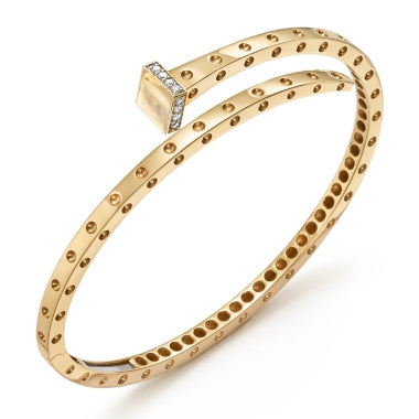Open Nail Pois Moi Diamond Bangle