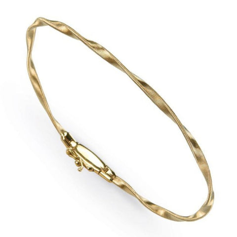 Marrakech Yellow Gold Stackable Bangle