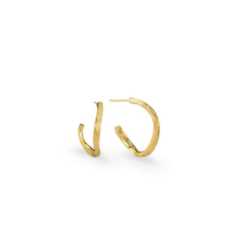 Delicati Yellow Gold Extra Petit Hoop Earrings